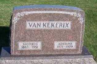 VANKEKERIX, JACOBUS - Sioux County, Iowa | JACOBUS VANKEKERIX