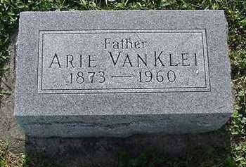 VANKLEI, ARIE - Sioux County, Iowa | ARIE VANKLEI