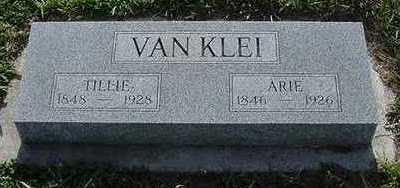 VANKLEI, TILLIE - Sioux County, Iowa | TILLIE VANKLEI