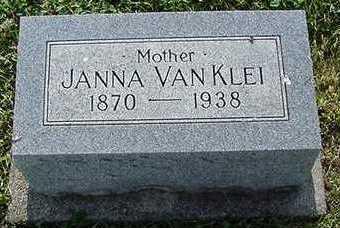 VANKLEI, JANNA - Sioux County, Iowa | JANNA VANKLEI
