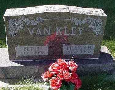 VANKLEY, LILLIAN - Sioux County, Iowa | LILLIAN VANKLEY