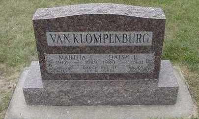 VANKLOMPENBURG, MARTHA - Sioux County, Iowa | MARTHA VANKLOMPENBURG