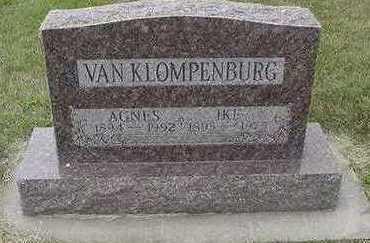 VANKLOMPENBURG, IKE - Sioux County, Iowa   IKE VANKLOMPENBURG