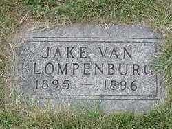 VANKLOMENBURG, JAKE  D.1896 - Sioux County, Iowa   JAKE  D.1896 VANKLOMENBURG