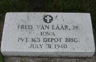 VANLAAR, FRED - Sioux County, Iowa | FRED VANLAAR