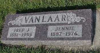VANLAAR, JENNIE - Sioux County, Iowa | JENNIE VANLAAR