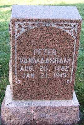 VANMAASDAM, PETER - Sioux County, Iowa | PETER VANMAASDAM