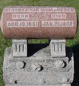 VANMAVEREN, GIJBERTJE - Sioux County, Iowa | GIJBERTJE VANMAVEREN