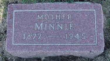 VANMEEVEREN, MINNIE - Sioux County, Iowa | MINNIE VANMEEVEREN