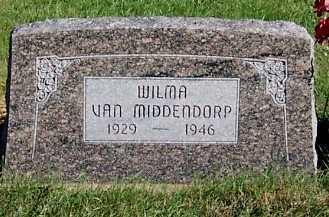 VANMIDDENDORP, WILMA - Sioux County, Iowa | WILMA VANMIDDENDORP