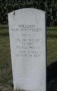 VANNIMWEGEN, WILLIAM - Sioux County, Iowa | WILLIAM VANNIMWEGEN