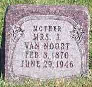 VANNOORT, MRS. J. - Sioux County, Iowa | MRS. J. VANNOORT
