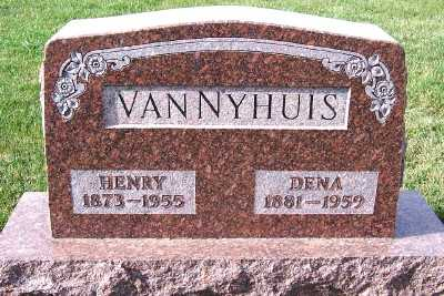 VANNYHUIS, HENRY - Sioux County, Iowa | HENRY VANNYHUIS