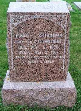 VANOORT, JENNIE (MRS. G.H.) - Sioux County, Iowa | JENNIE (MRS. G.H.) VANOORT