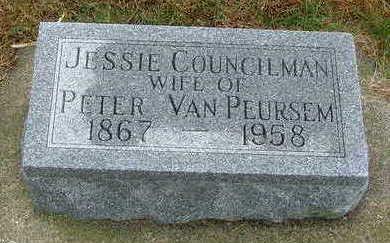 COUNCILMAN VANPEURSEM, JESSIE - Sioux County, Iowa | JESSIE COUNCILMAN VANPEURSEM