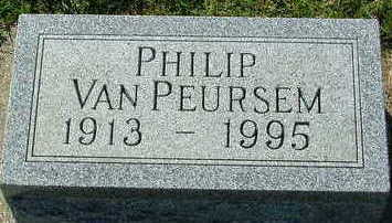 VANPEURSEM, PHILIP - Sioux County, Iowa | PHILIP VANPEURSEM