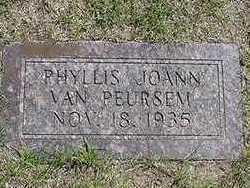 VANPEURSEM, PHYLLIS JOANN - Sioux County, Iowa   PHYLLIS JOANN VANPEURSEM