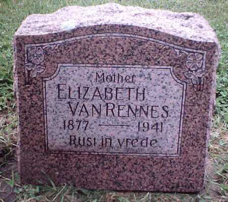 VANRENNES, ELIZABETH - Sioux County, Iowa | ELIZABETH VANRENNES