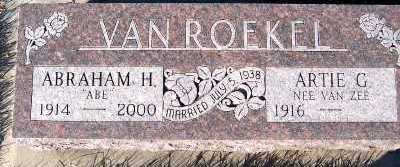 VANROEKEL, ABRAHAM H. - Sioux County, Iowa | ABRAHAM H. VANROEKEL