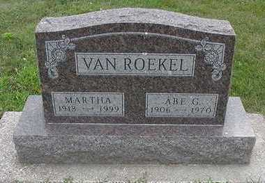 VANROEKEL, MARTHA - Sioux County, Iowa | MARTHA VANROEKEL