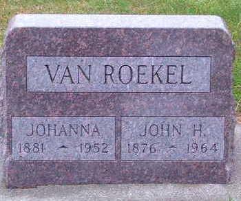 VANROEKEL, JOHANNA (MRS. JOHN H.) - Sioux County, Iowa | JOHANNA (MRS. JOHN H.) VANROEKEL