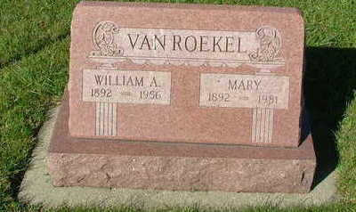 VANROEKEL, WILLIAM A. - Sioux County, Iowa | WILLIAM A. VANROEKEL