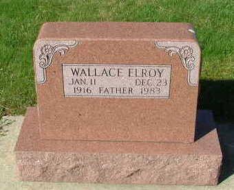 VANROEKEL, WALLACE ELROY - Sioux County, Iowa | WALLACE ELROY VANROEKEL
