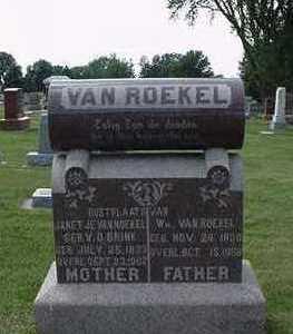 VANROEKEL, WM. - Sioux County, Iowa | WM. VANROEKEL