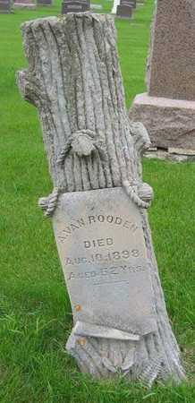VANROODEN, A. - Sioux County, Iowa | A. VANROODEN