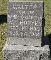 VANROOYEN, WALTER - Sioux County, Iowa | WALTER VANROOYEN