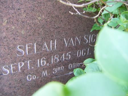 VANSICKLE, SELAH - Sioux County, Iowa | SELAH VANSICKLE