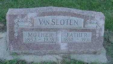 VANSLOTEN, FATHER - Sioux County, Iowa | FATHER VANSLOTEN