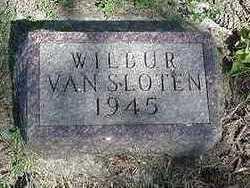 VANSLOTEN, WILBUR - Sioux County, Iowa | WILBUR VANSLOTEN