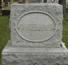 VANSTEENBERGEN, HEADSTONE - Sioux County, Iowa | HEADSTONE VANSTEENBERGEN