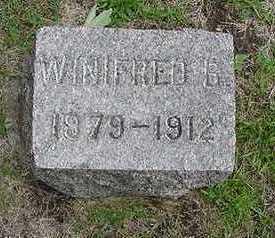 VANSTEENBERGEN, WINIFRED - Sioux County, Iowa   WINIFRED VANSTEENBERGEN