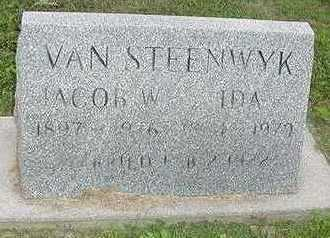 VANSTEENWYK, IDA - Sioux County, Iowa | IDA VANSTEENWYK
