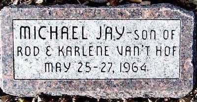 VANTHOF, MICHAEL JAY - Sioux County, Iowa | MICHAEL JAY VANTHOF