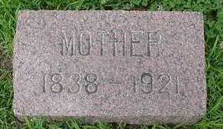 VANTHULL, MOTHER  D. 1921 - Sioux County, Iowa | MOTHER  D. 1921 VANTHULL