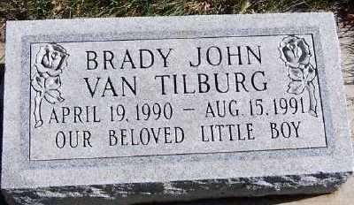 VANTILBURG, BRADY JOHN - Sioux County, Iowa   BRADY JOHN VANTILBURG