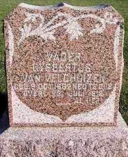 VANVELDHUIZEN, GYSBERTUS - Sioux County, Iowa   GYSBERTUS VANVELDHUIZEN