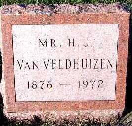 VANVELDHUIZEN, H. J. - Sioux County, Iowa   H. J. VANVELDHUIZEN