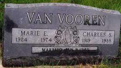 VANVOOREN, MARIE E. - Sioux County, Iowa | MARIE E. VANVOOREN