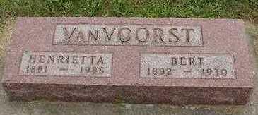 VANVOORST, BERT - Sioux County, Iowa | BERT VANVOORST