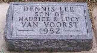 VANVOORST, DENNIS LEE - Sioux County, Iowa | DENNIS LEE VANVOORST