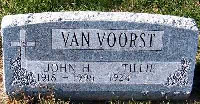 VANVOORST, JOHN H. - Sioux County, Iowa   JOHN H. VANVOORST
