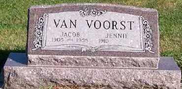 VANVOORST, JACOB - Sioux County, Iowa   JACOB VANVOORST