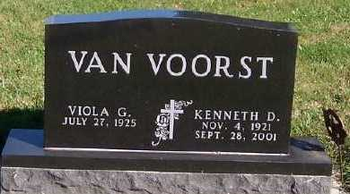 VANVOORST, KENNETH D. - Sioux County, Iowa | KENNETH D. VANVOORST