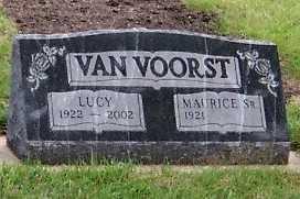 VANVOORST, MAURICE SR. - Sioux County, Iowa | MAURICE SR. VANVOORST