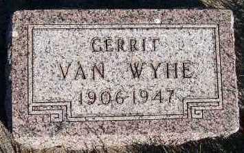 VANWYHE, GERRIT - Sioux County, Iowa | GERRIT VANWYHE