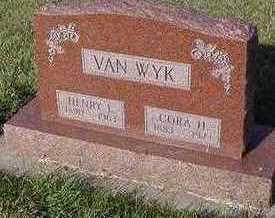 VANWYK, CORA (MRS. HENRY) - Sioux County, Iowa   CORA (MRS. HENRY) VANWYK